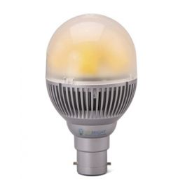 Ampoule LED B22 8W 230V blanc froid 650 Lumens