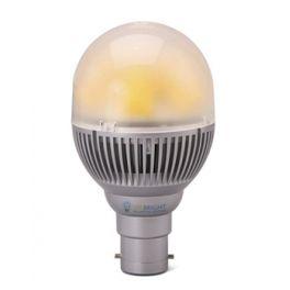 Ampoule LED B22 8W 230V blanc chaud 500 Lumens
