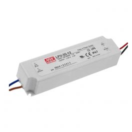Alimentation LED 12V 35W IP67 Entrée 230VAC