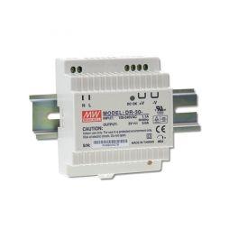 Alimentation LED 24V 30W Entrée 230VAC Rail DIN