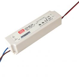 Alimentation LED 24V 60W IP67 Entrée 230VAC