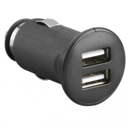 Alimentation allume cigare 12V-24V 2 sorties USB 5V