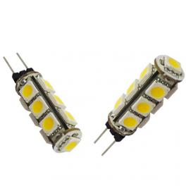 Lampe LED G4 2W 12VDC blanc froid diamètre 10 mm