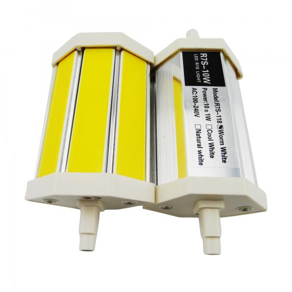 lampe led r7s 118 mm 10w 230v blanc chaud 850 lumens 35 02 lampes led 230v culot r7s. Black Bedroom Furniture Sets. Home Design Ideas
