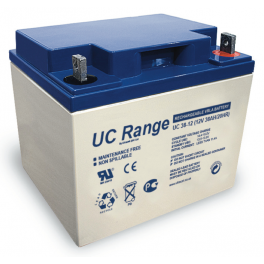 Batterie plomb 12V 38Ah Ultracell gamme UC