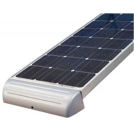 Support de fixation aluminium spoiler 530 mm pour panneaux solaires