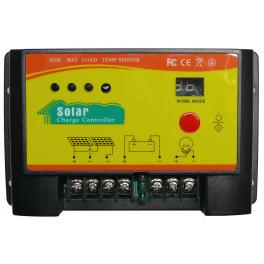 Régulateur solaire 20A 12V / 24V avec minuterie