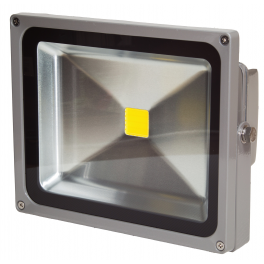 Projecteur LED 30W blanc neutre IP65 extérieur