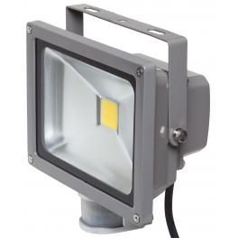 Projecteur LED 20W blanc chaud IR IP54 extérieur