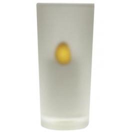 Bougie LED Photophore finition verre opalisé