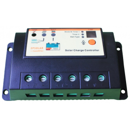 Régulateur solaire EP20 20A 12V / 24V avec fonction crépusculaire