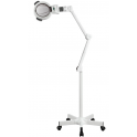 Lampe loupe LED professionnelle pied roulettes 5 dioptries Weelko (20 LEDS)