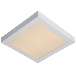 Plafonnier LED carré 18W blanc neutre montage apparent