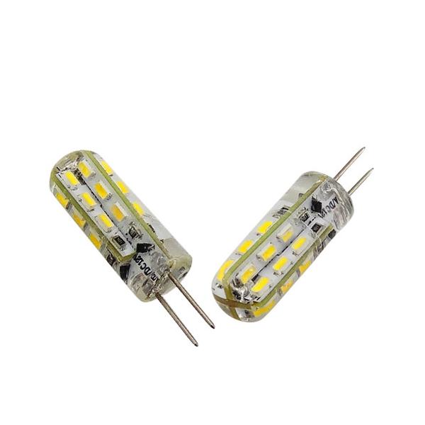 Lampe Led G4 Silicone 1w5 12v Ac Dc Blanc Chaud Diametre 9 5 Mm A 3