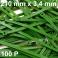 100 Colliers serrage. Serre-câbles attache-câbles Vert 210 x 3,4 mm