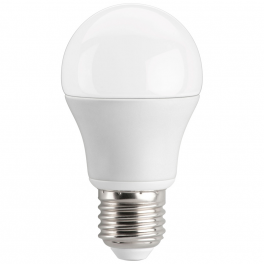 Ampoule LED bulbe douille E27, 10W 230V, blanc chaud