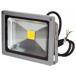 Projecteur LED 20W 12/24V Blanc Chaud IP65 extérieur