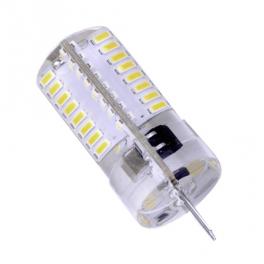 Lampe LED G4 silicone 2W8 12V blanc chaud diamètre 16 mm