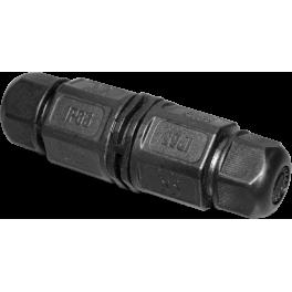 Connecteur de jonction axial 3 pôles IP65