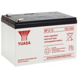 Batterie plomb 12V 12 Ah Yuasa gamme NP