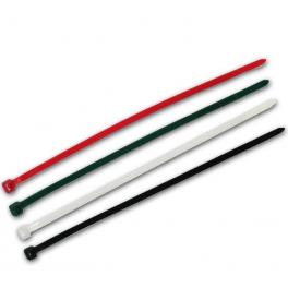 50 Colliers de serrage type RILSAN / COLSON 4 couleurs 200 x 4,8 mm