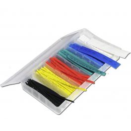 Coffret de 100 gaines thermorétractables de couleur
