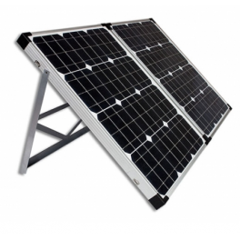 Valise solaire 100W avec ses accessoires