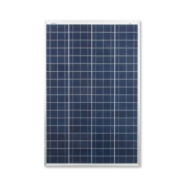 kit panneau solaire polycristallin 100w 12v et r gulateur. Black Bedroom Furniture Sets. Home Design Ideas