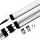 Réglette LED aluminium 1m 144 LED SMD blanc neutre
