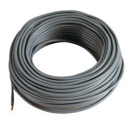 5 m Cable noir 10mm2 pour cablage des systèmes énergétiques