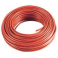 5 m Cable rouge 10mm2 pour cablage des systèmes énergétiques