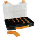 Boite de rangement 20 compartiments modulables 326 x 257 x 51 mm