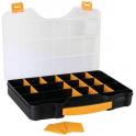Boite de rangement 20 compartiments modulables 420 x 305 x 61 mm