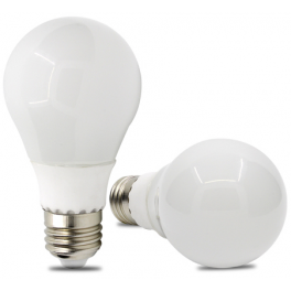 Ampoule LED bulbe douille E27, 9W 230V, blanc neutre