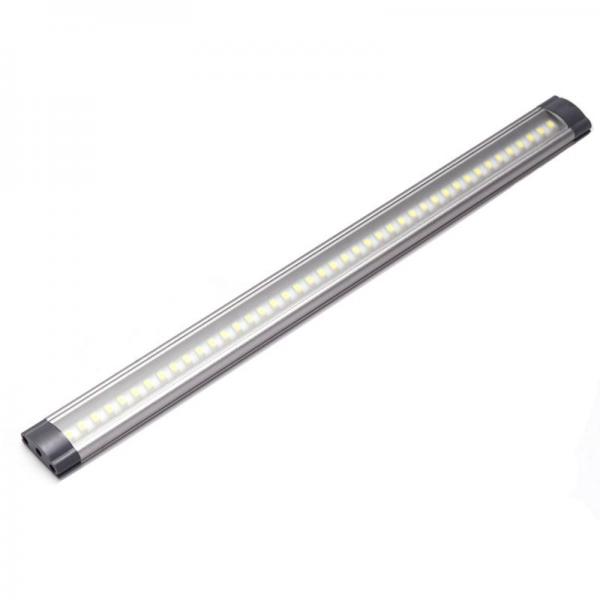 kit 2 r u00e9glettes led aluminium 0m50 69 led smd blanc chaud