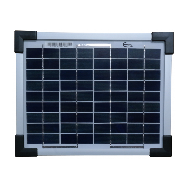 Kit panneau solaire monocristallin 5w 12v avec r gulateur for Panneau solaire sous vide