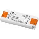Alimentation LED 230VAC-12VDC 0-30W slim