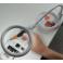 Lampe-loupe LED 2en1 lentille 100 mm, 3 dioptries (30 LEDS)
