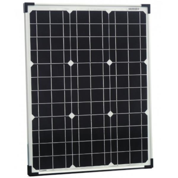 panneau solaire monocristallin 50w 12v 107 90 panneaux solaires. Black Bedroom Furniture Sets. Home Design Ideas