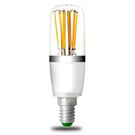 Lampe LED Filament E14, 6W 12V AC/DC, blanc chaud