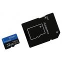 Carte mémoire Micro-SDHC, Classe de vitesse UHS1 & C10, Capacité  32Goctets