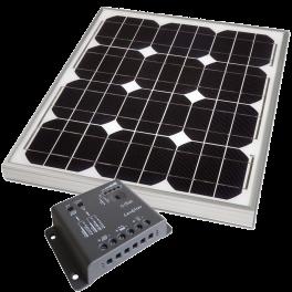 Starter kits solaires (Panneaux + Régulateurs)