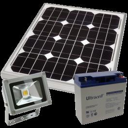 Kit éclairage solaire extérieur