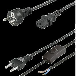 Câbles et cordons secteur, rallonges