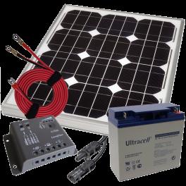 Panneaux solaires, régulateurs, accessoires