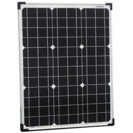 Panneau solaire monocristallin 50W 12V